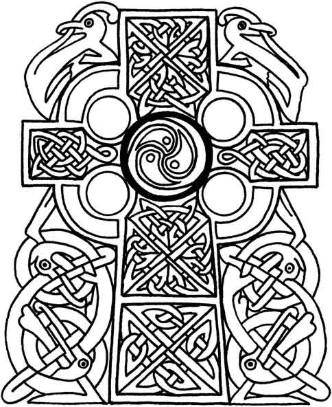 Free Printable Celtic Mandala Coloring Pages, Download Free Clip ...   592x484