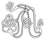 celtic font a