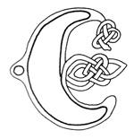 celtic font e