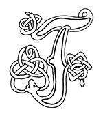 celtic font f