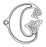 celtic font g