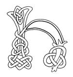 celtic font h