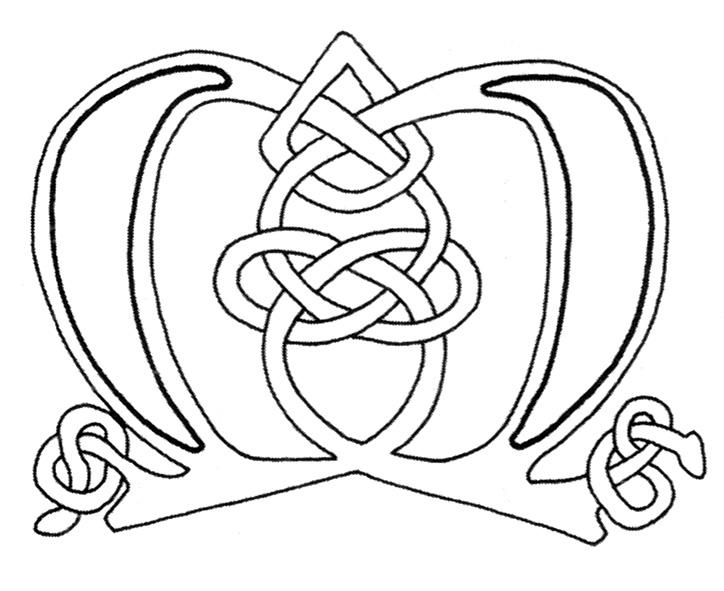celtic alphabet coloring pages - photo#35