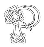 celtic font p