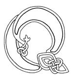 celtic font q