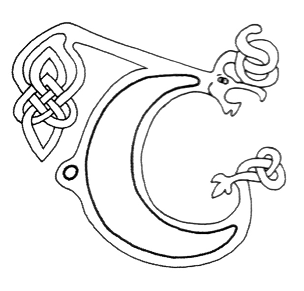 celtic alphabet coloring pages - photo#24