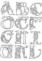 celtic letter