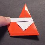easy christmas origami santa