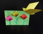 paper craft -- origami idea