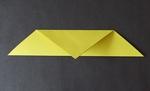 easy origami bird making
