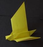 simple origami bird