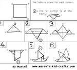 free origami pattern