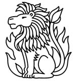 lion horoscope symbol