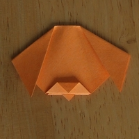 And your origami dog is done!