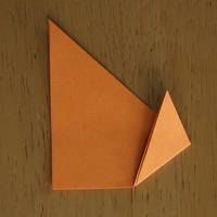how to fold origami dog