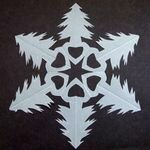 free printable snowflake template