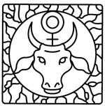 taurus astrological symbol